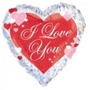 בלון הליום i love you