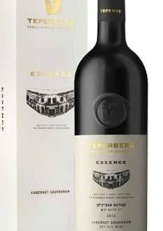 יין טפרברג Essence קברנה סוביניון 2016 + מארז מפואר