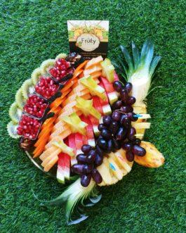 מגש פירות שורות קוטר 35