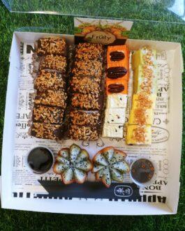 דואט סושי פירות & סושי שוקולד 24 יחידות